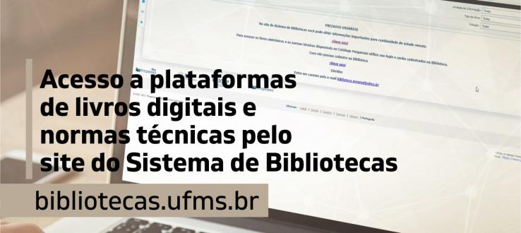 Acesse livros digitais e normas técnicas do Sistema de Bibliotecas